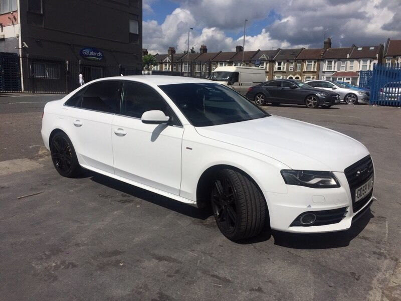 2010 audi a4 s line 2 0 tdi white special edition in. Black Bedroom Furniture Sets. Home Design Ideas