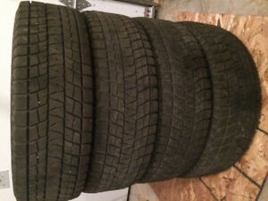 235/75R16 Bridgestone Blizzak Winter Tires (Set of 4)