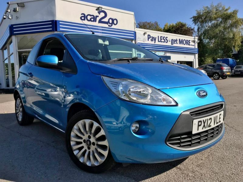Ford Ka Zetec Manual Hatchback