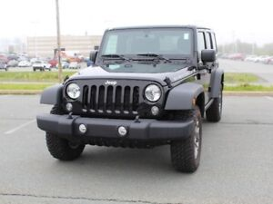 2017 JEEP WRANGLER Rubicon with Heated Seats and Remote Start!