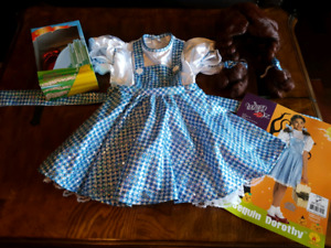 Dorothy wizard of OZ costume size small