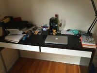 Selling desk, bed & bedfrane