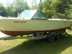 1972 18.5' Greavette with 6 chevy Mercruiser and trailer Kawartha Lakes Peterborough Area image 2