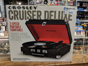 Crosley Cruiser 3 Speed Portable Turntable (Brand New)