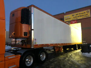 2007 Utility Reefer Trailer w Thermo King unit, Spreadable Axle