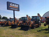 NEW 2015 CASE 580 BACKHOES IN STOCK-0% FOR 48 MONTHS