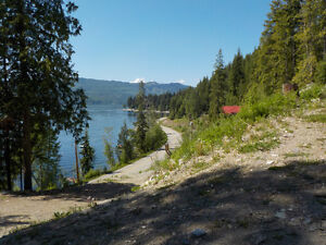 16 Acre Semi Waterfront Property on SHUSWAP LAKE North Shore Greater Vancouver Area image 3