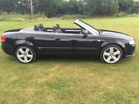 Audi A4 S line 2.0 turbo. Convertible