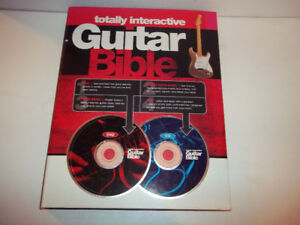 Totally Interactive Guitar Bible Tutor Book with CD