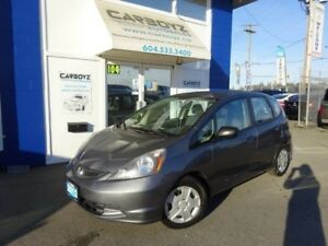 2012 Honda Fit DX Hatchback, Automatic, No Accidents, Low Kms