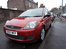 FORD FIESTA 1.2 style 2007 Petrol Manual in Red