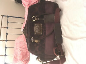 Coach Luggage Boston Travel Bag