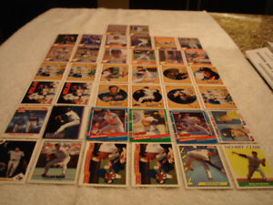 CALLING ALL SPORTS CARD COLLECTORS - $5+ FOR BASEBALL CARDS