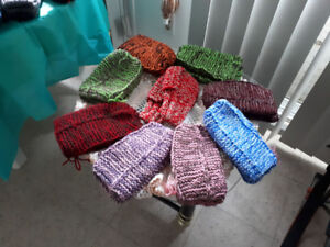 Hand knitted stuff