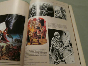 The Art of the Dungeons and Dragons Fantasy Game Paperback 1986 Kingston Kingston Area image 5