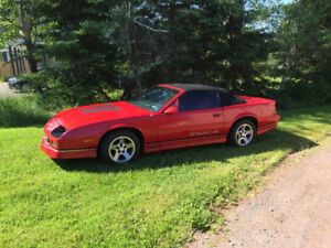 1988 IROC Z, ALL ORIGINAL 51000 KM!!!