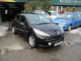 Peugeot 207 1.4 VTi 95 Sport FULL MOT 65000MLS 2009 EXCELLENT