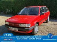 1992 AUSTIN MAESTRO 1.3 CLUBMAN - ONLY 15K MILES - FUTURE/CLASSIC CAR