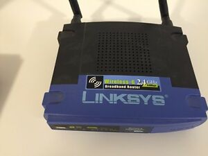 LINKSYS WIRELESS-G 2.4 GHz 54Mbps BROADBAND ROUTER West Island Greater Montréal image 1