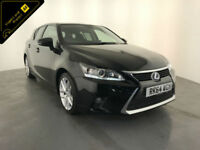 2014 64 LEXUS CT 200H LUXURY AUTOMATIC 1 OWNER SERVICE HISTORY FINANCE PX