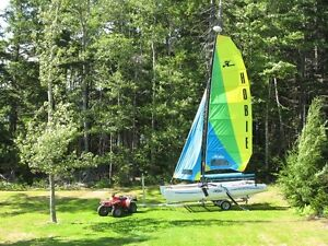 Hobie Getaway sail boat and trailer