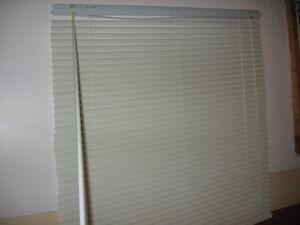 white window blind