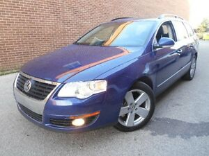 2009 Volkswagen Passat Wagon KOMFORT, 2.0L, SUNROOF, LEATHER, PO