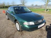 1997 AUDI A4 1.8 AUTOMATIC PETROL 4 DOOR SALOON