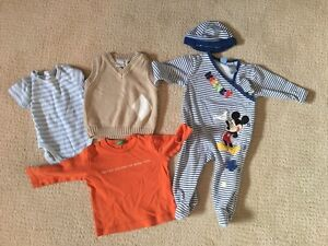 Boys size 9-12 month lot - 4 items, includes brand name.