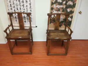 Antique chinese chair 18th