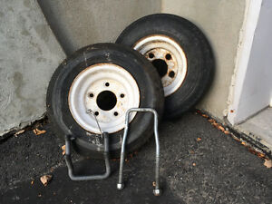 2 roues pour remorque / 2 wheels for trailer Gatineau Ottawa / Gatineau Area image 1