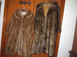 Manteaux de fourrure_35 $ chacun