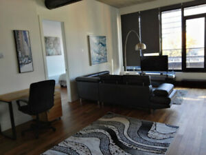 Fully furnished 1 bedroom condo next to old port!