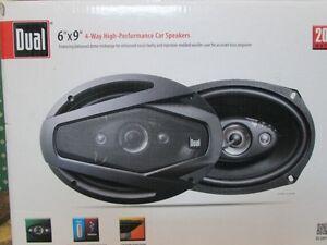 """Dual DLS694G 6""""x 9"""" 4-Way Speakers ( MSRP $65 )"""