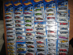 HOT WHEELS COLLECTOR CARS $3.00 EACH