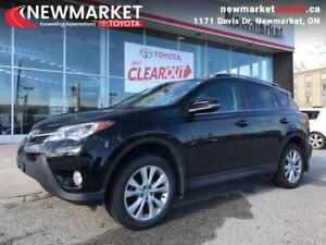 2015 Toyota RAV4 AWD Limited  - one owner - trade-in - $100.16 /