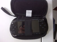 Sony Black PSP 2001 Console System + Case No Charger