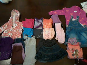 Size 2 girls fall/winter lot