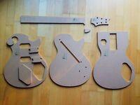 PRS McCarty Gitarre Schablone templates Gitarrenbau