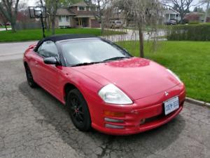 2002 Mitsubishi eclipse spyder gs convertible
