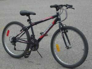 """YOUTH MID SIZE 24"""" SC 1800 SERIES 18 SPD MTB QUICK SALE $85.00!"""
