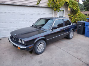 1984 BMW 325E COUPE, VERY GOOD OVERALL CONDITION, NO RUST!