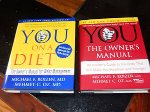 2 Dr Oz Books on owning your health