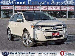 2013 Ford Edge SEL, NAV, CAM, PANROOF, LEATHER/CLOTH, 6CYL, 3.5L