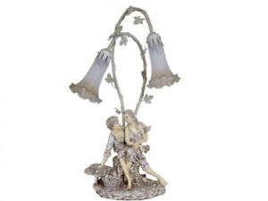 Brand new collectible Victorian figurine table lamp Tiffany Sale