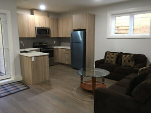 Two bedroom furnished basement suite in south surrey