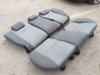 FORD FOCUS REAR SEATS 2007