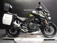 65 TRIUMPH TIGER EXPLORER 1200 XC 3 X LUGGAGE 6,700 MILES