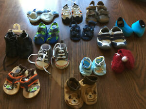 13 Baby boy shoes size 3