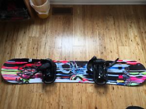 Unisex Head 156cm Snowboard w/ bag & binding - Excellent Cond.